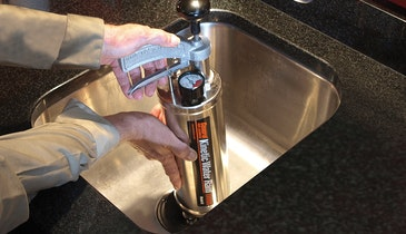 Portable Tool is the Key to Plumber's Profits