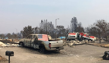 Hydroexcavation Crews Aid in California Fire Cleanup