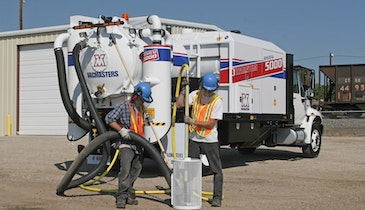 VACMASTERS SYSTEM 5000 air-vacuum excavation system built with operators in mind