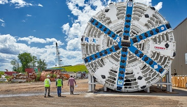 News Briefs: First Crossover Tunnel Boring Machine in the U.S. to be used in Ohio