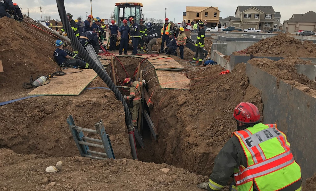 Two Men Killed in Colorado Trench Collapse