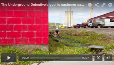 The Underground Detective's Goal is Customer Safety