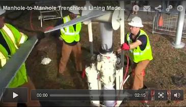 Manhole-to-Manhole Trenchless Lining Made Easy