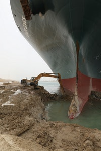 Excavator Operator Reflects on Suez Canal Job