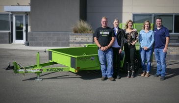 Felling Trailers Announces Winning Bid of 2020 Trailer for a Cause Auction