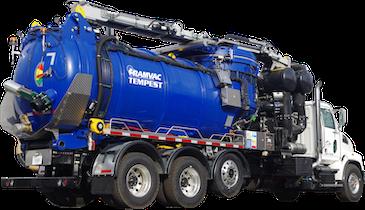 New Vacuum Technology: RAMVAC Tempest Industrial Vacuum Truck
