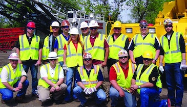 ALL Crane holds safety training