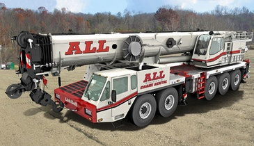 All-Terrain Cranes Feature Outstanding Mobility and Transportability