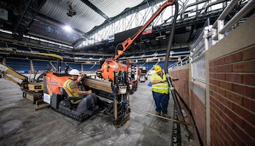 News Briefs: Directional Drills, Vacuum Excavators at Work in Ford Field