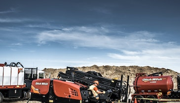 The Powerful JT30 All Terrain Directional Drill