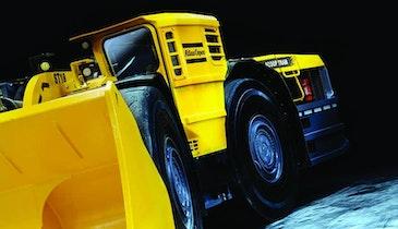 Atlas Copco load-haul-dump rig