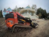 Compact, Mini Skid-Steer Improves Productivity on Large-Scale Landscape Project