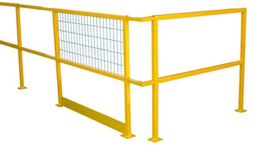 Beacon railing safety system