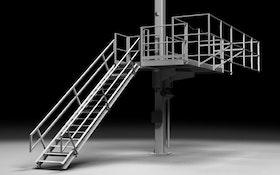 Elevating Platform Provides Safe Access to Tank Trucks