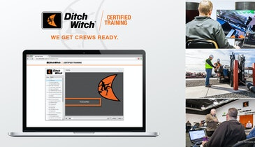 Ditch Witch Offers Certified Training Program