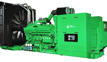 Cummins low-emissions diesel generators