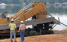 Michigan Contractor Tackles Dam Remediation Project Using 80-foot Trencher