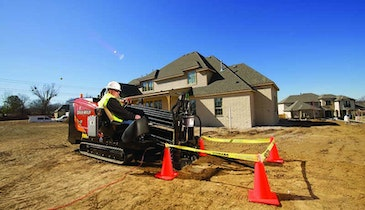 Ditch Witch JT9 horizontal directional drill