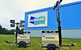 Doosan small-body light towers