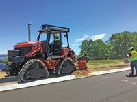 Energy Company Uses New Equipment to Lay 5,000 Feet of Pipe