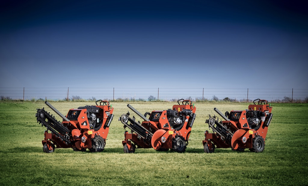 Ditch Witch Introduces New Series of Walk-Behind Trenchers