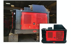 Fecon BHP270 power pack for larger excavator