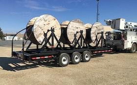Felling Trailers FT-30-3 triple-cable reel trailer
