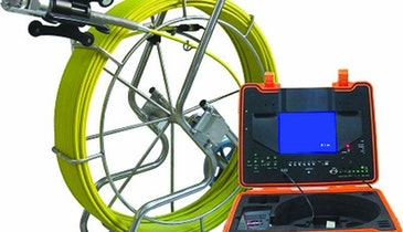 Mainline TV Camera Systems - Pan-tilt pipe inspection camera system