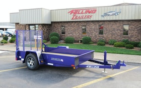 Bid on Purple Felling Trailer to Benefit Pancreatic Cancer Research