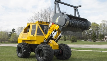 Updated Geo-Boy Brush Cutter Tractor Offers New Features