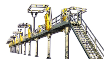 GREEN Railcar Access Platforms For Any Size Project