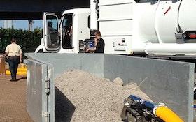 Guzzler CL with Gerotto Lombrico mini-excavator