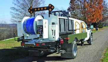 Truck/Trailer/Portable Jetters - Truck-mounted hydrojetter