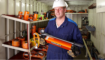 Holmatro Introduces Hand Pump Line