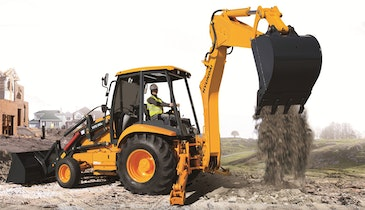 New Backhoe Offers Robust Design
