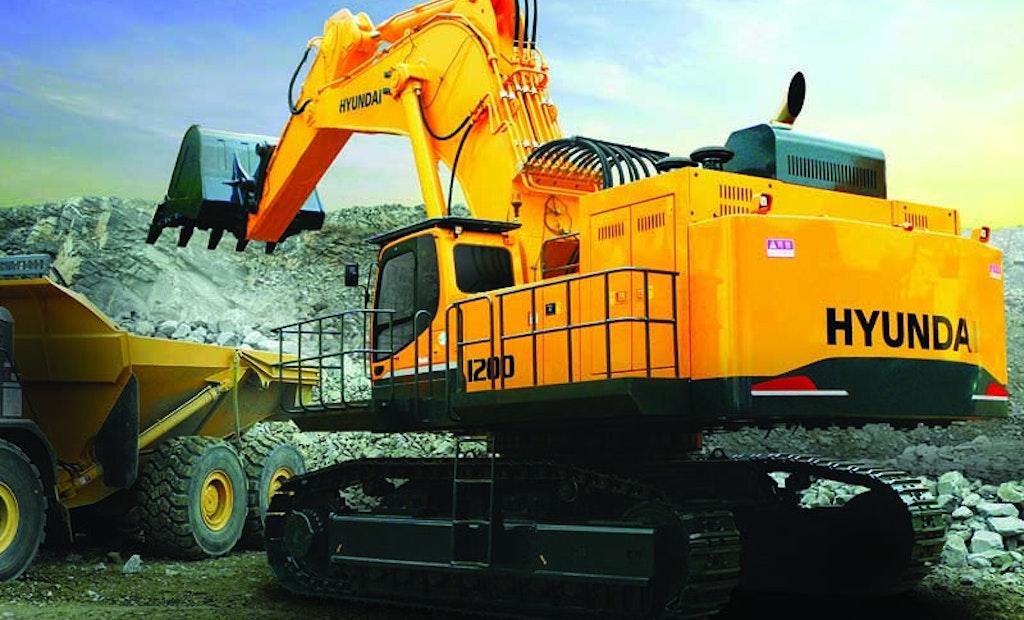 Hyundai R1200-9 excavator