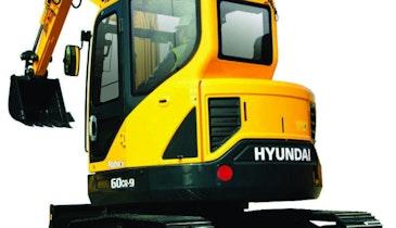 Hyundai compact radius excavator