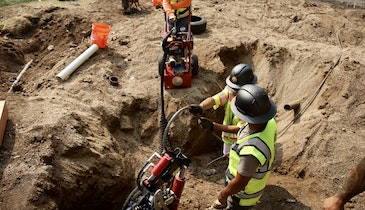 Pipe Bursting System Provides Reliable Power and Productivity