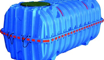 Infiltrator potable water tank