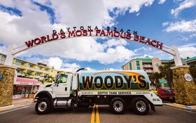 Woody's Septic Enjoys Effective Marketing & 2013 Classy Truck of the Year Honors