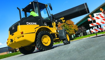 Wheel Loaders Deliver Big Results in a Compact Package
