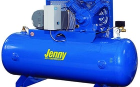 Jenny two-stage, horizontal compressors