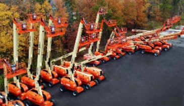ALL Aerials Adds 60 New JLG Boom Lifts to Fleet