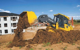 John Deere 655K and 755K crawler loaders