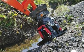 KINSHOFER USA NOX-Tiltrotator Series tiltrotators for excavators