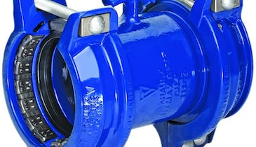 Krausz pipe coupling and flange adapter