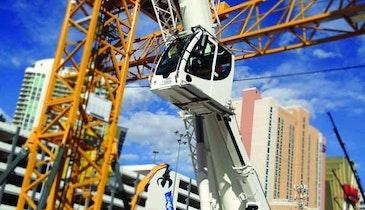 Liebherr all-terrain crane