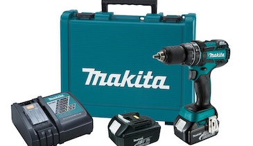 Brushless Hammer Driver-Drill Delivers More Speed