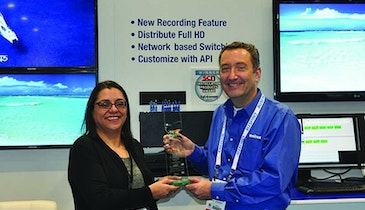 Matrox receives 2014 SCN Installation Product Award