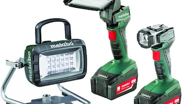 Metabo LED work lamps